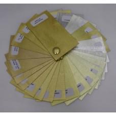 Színkártya minden típusú aranylaphoz - 1 db
