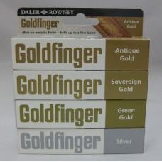 Goldfinger fém paszta 22 ml. különböző színekben