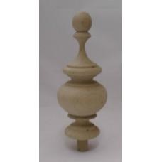 Bútordísz éger fából 158X65 mm