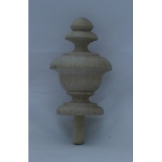 Bútordísz éger fából 70X45 mm