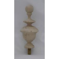 Bútordísz éger fából 105X50 mm