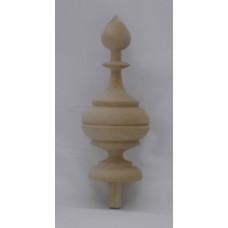 Bútordísz éger fából 105X45 mm