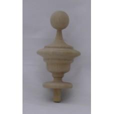 Bútordísz éger fából 80X45 mm