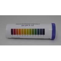 Univerzális Indikátorpapir, tesztcsík pH 0-12 - 100 db