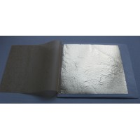 Fémfólia, szín: 2 sötét-/antikarany - 25 lap, 14x14 cm