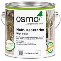 OSMO Holz-Deckfarbe High Solid, 2104 Fehér - 750 ml